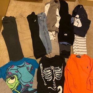 Boys 2t fall/winter clothing lot (15 pieces)